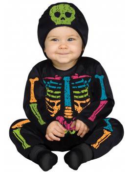 Baby Bones - Multicolor Baby Halloween Costume