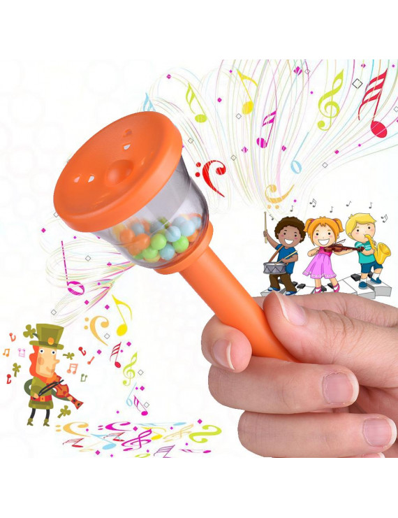 Eco-Friendly Bell Handbell Musical Toy for Baby Toddlers Kids Children