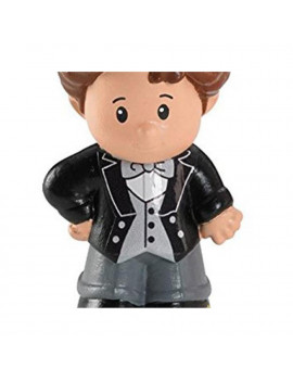 Replacement Figure for Fisher-Price Little People Wedding Set P0131 - Includes 1 Groom Figure Wearing a Black Tuxedo