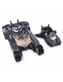 Batman Batmobile and Batboat 2-in-1 Transforming Vehicle, For Use with Batman 4-Inch Action Figures