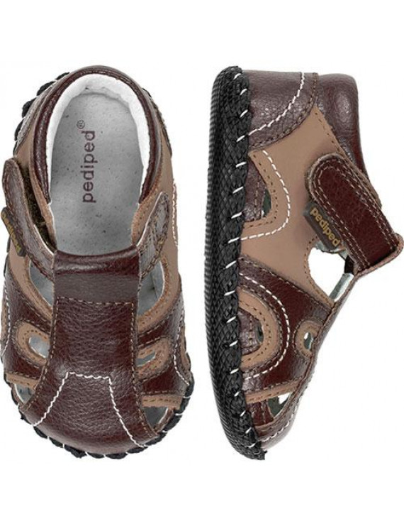 Brody Originals Fisherman Sandal (Infant/Toddler),Brown Tan,X-Small (0-6 months)