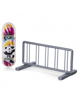 Tech Deck, Street Hits, Enjoi Skateboards Fingerboard with Bike Rack Obstacle
