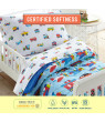 Trains, Planes & Trucks Super Soft 100% Cotton Sheet Set - Toddler