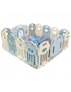 14 Panel Baby Playpen Folding Kids' Safety Activity Center