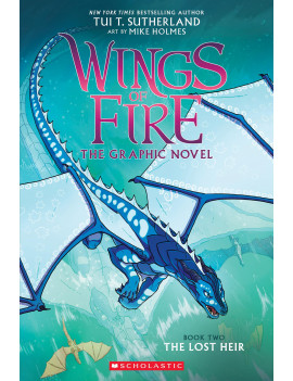 Wings of Fire Graphic Novel: The Lost Heir (Wings of Fire Graphic Novel 2) (Hardcover)