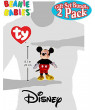 TY Beanie Babies Sparkle Classic Disney Mickey & Minnie Mouse Gift Set Bundle - 2 Pack