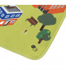 Baby Play Mat for Kids, Microfiber Flannel Fleece & Foam Mat with Non Slip Back and City Scene by Hey! Play!