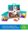 Little People Big Helpers Interactive Home Play Set with Tessa and Chris