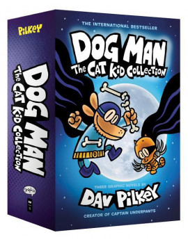 DOG MAN: CAT KID COLLECTI ON BOOKS 4-6