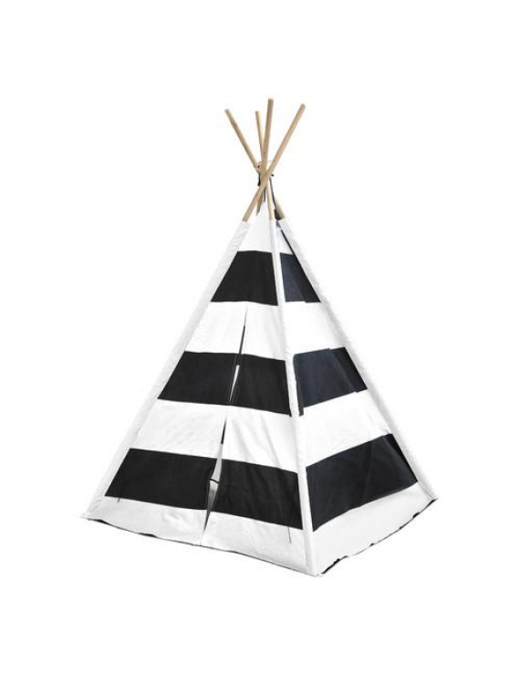 American Kids Awesome Tee-Pee Tent, Rugby Stripe