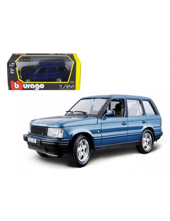 Bburago 22020bl Land Rover Range Rover Blue 1-24 Diecast Car Model