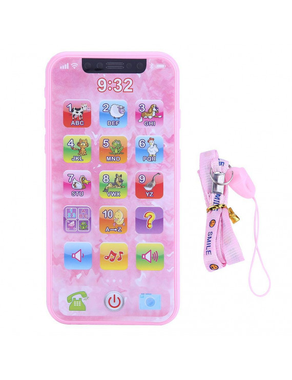 Mgaxyff Learning Toy,Baby Kids Music Toy Simulated Mobile Phone Educational Learning Machine Children Gifts, Kids Toy