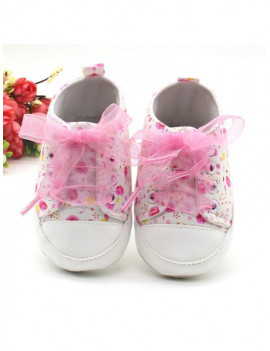 Lavaport Cute Infant Sneakers Toddler Baby Boy Girl Soft Sole Crib Shoes 0-18 Months