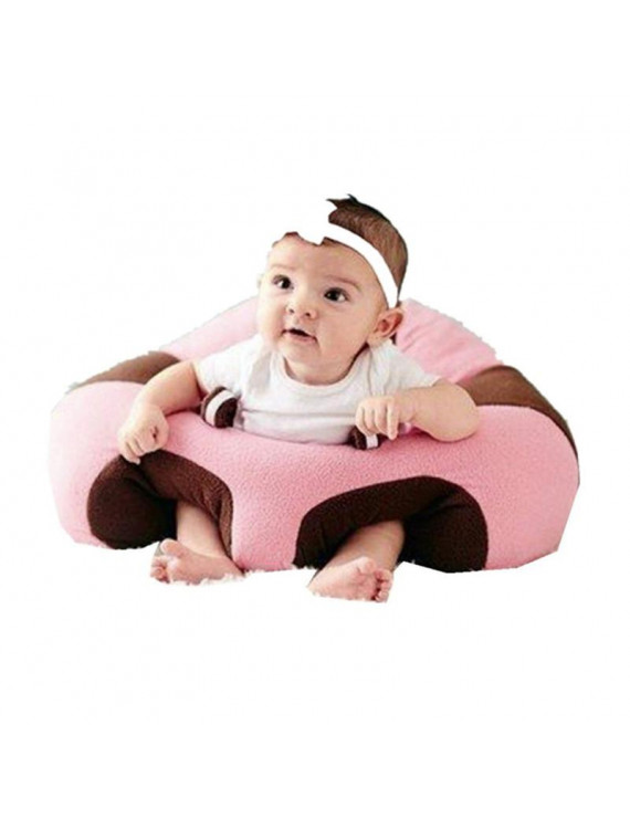 Creative Baby Learning Sitting Sofa Chair Soft Comfortable Sofa for Children Protect Baby Head Machine Washable Cover Infant Sitting Chair 3-10 Months Baby