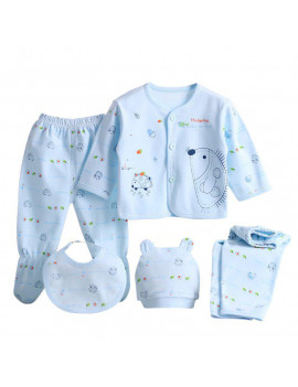 (5pcs/set)Newborn Baby 0-3M Clothing Set Brand Baby Boy Girl Clothes 100% Cotton Cartoon Underwear