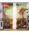 ZKGK Sexy Woman Window Curtain Drapery/Panels/Treatment For Living Room Bedroom Kids Rooms 52x84 inches Two Panel