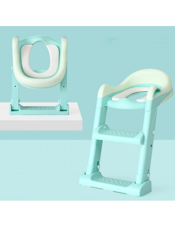 Bbay Potty Training Seat with Step Stool Ladder, Potty Training Toilet for Kids Toddlers-Comfortable Safe Potty Seat with Non-Slip  Pads Ladder
