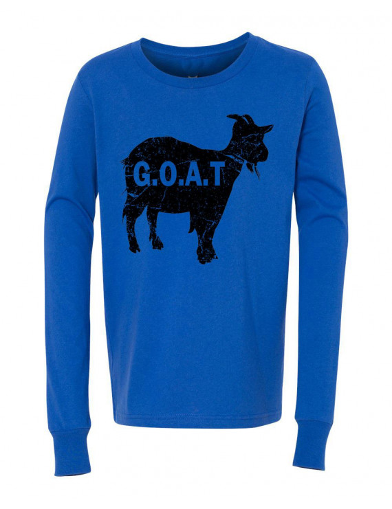 G.O.A.T Girls Boys  Long Sleeve