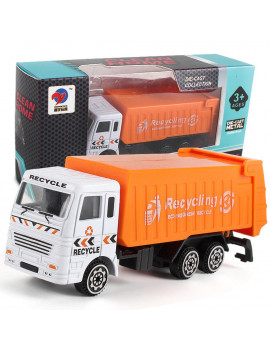 drunkilk Engineering Toy Mining Car Truck Children's Birthday Gift Garbage Truck
