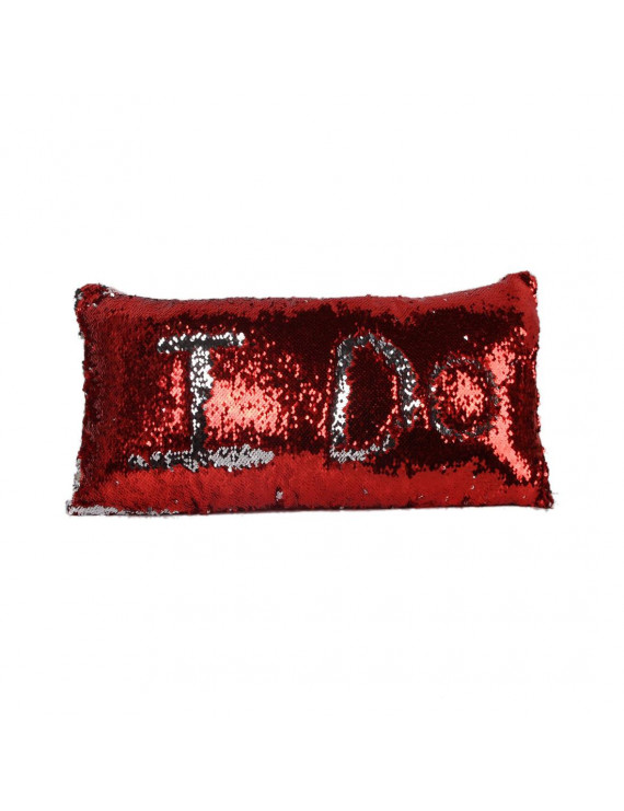 Rectangle Mermaid Pillow Case Magic Reversible Sequin Pillow Cover Throw Cushion Case Christmas Gift