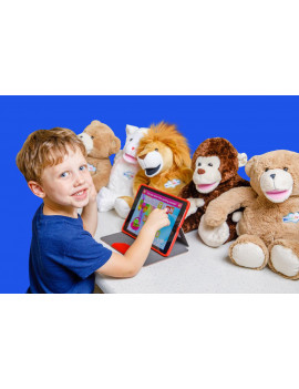 NEW Bluebee Pals Pro Talking Learning Tool Leo the Lion