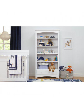DaVinci MDB Bookcase in White Finish