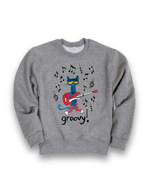 Pete the Cat  Groovy TODDLER CREW FLEECE