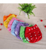 Qianquhui Baby Cloth Diapers Adjustable Size Washable Reusable for Girls and Boys