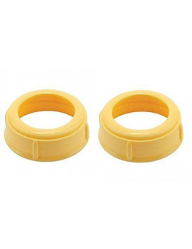 Medela Bottle Nipple Collars Rings New! For Slow or Medium Flow Wide Base (2 Collars)