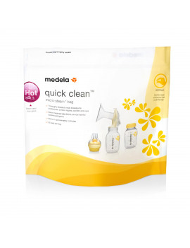 Medela Quick Clean MicroSteam Bags, 5 ct