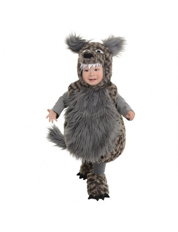 Morris Costume UR26107TM Wolf Toddler Costume, Medium 18-24