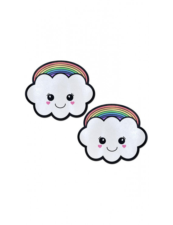 Rainbow Kawaii Cloud Pasties