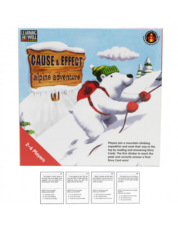 Learning Well Games Cause & Effect - Alpine Adventure Game, Red Levels 2.0-3.5