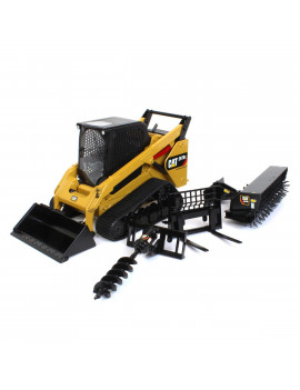 1/16 High Detail Caterpillar 297D2 Multi-Terrain Skid Loader, ERTL Exclusive 85603