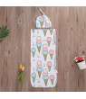 Cotton Soft Baby Swaddle Wrap Blanket Sleeping Bag For 0-12 Months Infant