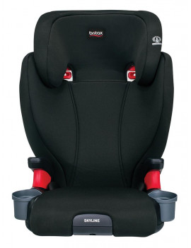 Britax® Skyline High Back Belt-Positioning Booster Seat, Dusk