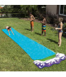 Water Slide Outdoor Waterproof Water Slide Tarp For Children Outdoors Lawn Backyard Have Fun
