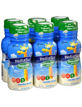 6 Pack - Liquid Vanilla With Fiber 48 oz 6 Pk