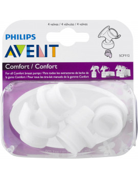 Philips Avent Comfort Breast Pump Valves, 4 ct