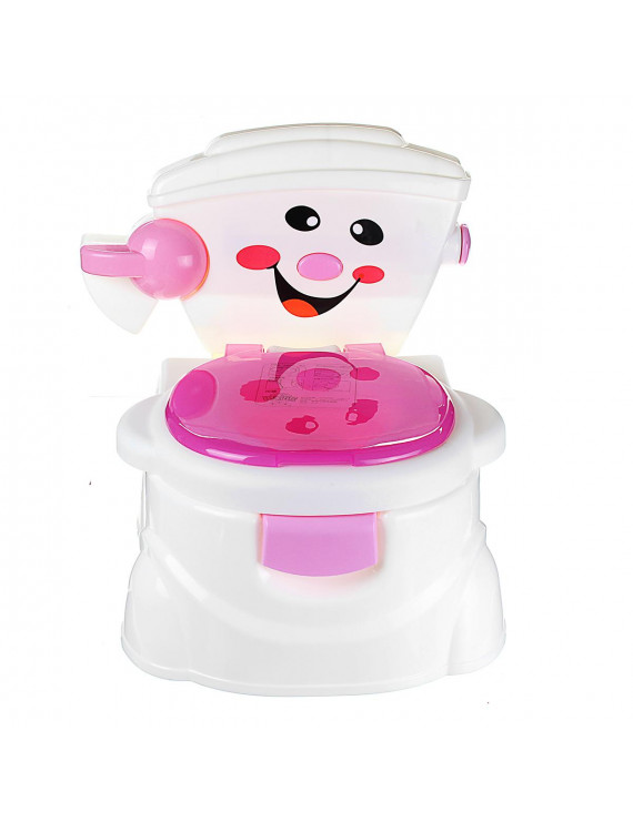 2 In 1 Kid Baby Toilet Potty Training Children Safety Toddler Trainer Seat Chair Christmas Gift