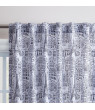 Your Zone Paris Sketch Kids Microfiber Print Curtains, 63-inches in L, Set of 2