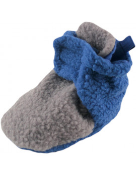 Baby Boy Fleece Booties