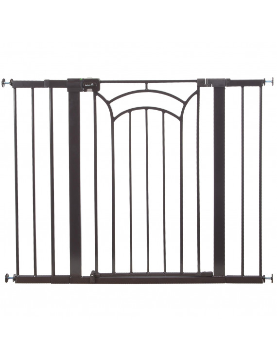 "Safety 1st Easy Install Tall & Wide Walk Thru Baby Gate 29""-47"", Decor"