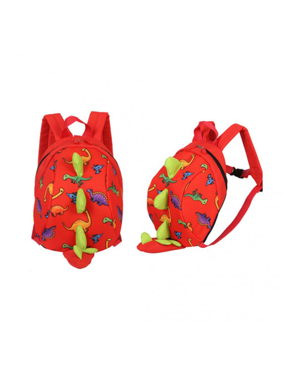 Akoyovwerve Cute Dinosaur Toddler Baby Safety Harness Backpack Anti-Lost Kindergarten 3-6 Years Old Baby Backpack Travel Parent-Child Backpack