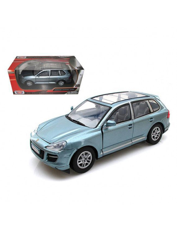 1 by 24 Porsche Cayenne Turbo Diecast Car Model - Grey