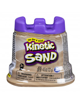 Kinetic Sand - Single Container - 4.5 oz - Brown