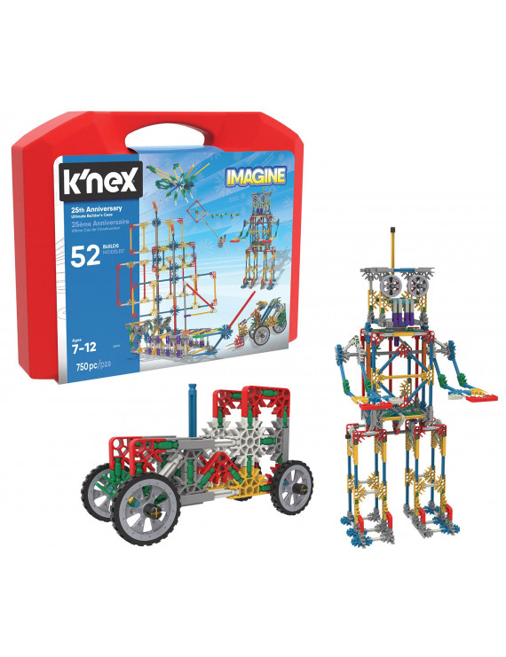 K'NEX Imagine - 25th Anniversary Ultimate Builder's Case - Creative Building Toy