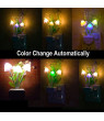 MIARHB Romantic Colorful Sensor LED Mushroom Night Light Wall Lamp Home Decor