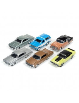 1 by 64 Mint Release 2 Set B Diecast Model Cars - Set of 6