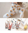 KABOER New Cute Girl Baby Toddler Kids Stocking Cotton Bowknot Long Casual Socks 3-8 Years
